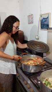 dinner jen cooking